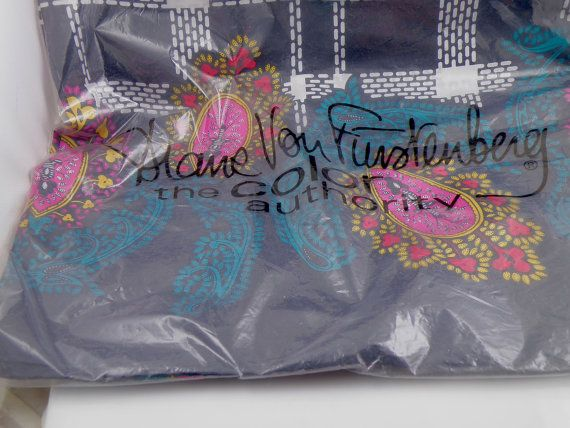 Large Silk Scarf - vintage but new in package. Diane von Furstenberg Color Authority Avon.  Use coupon code FRIDAY2014 for a 20% discount till Dec. 1  https://www.etsy.com/ca/listing/202572378/diane-von-furstenberg-color-authority
