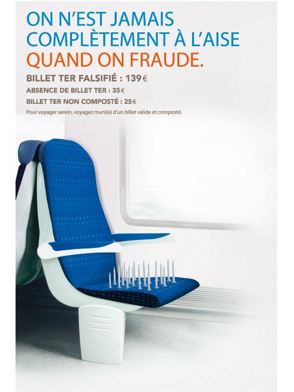 SNCF pub anti fraude