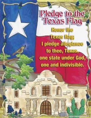 Texas Pledge-I haven't said it yet. Doesnt mean I don't love my Texas, but I have Tennessee in my heart always.