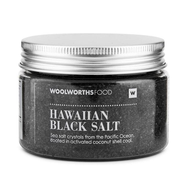 Hawaiian Black Salt 170g