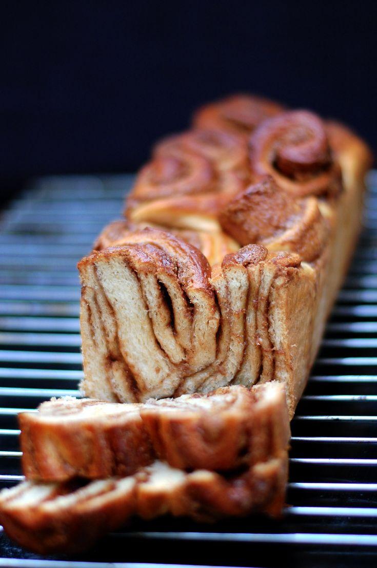 Kanelsnegle-brød