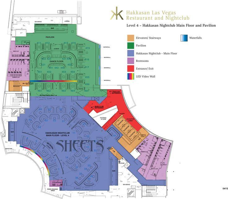 Image result for hakkasan restaurant floor plan Las