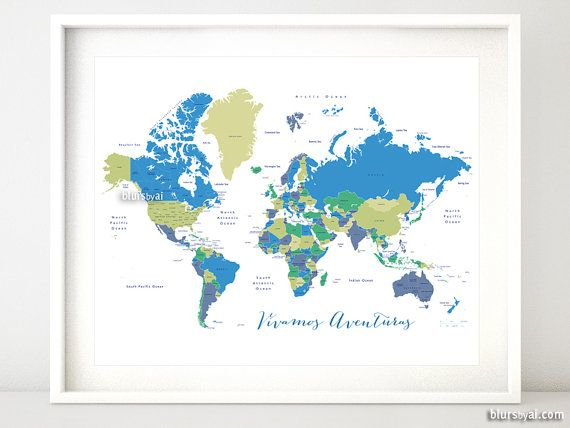 Unique World Maps With Countries Ideas On Pinterest Map - Us world map printable