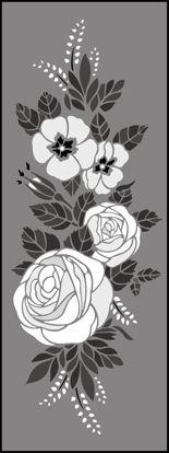Click to see the actual 290 - Motif No 3  stencil design.