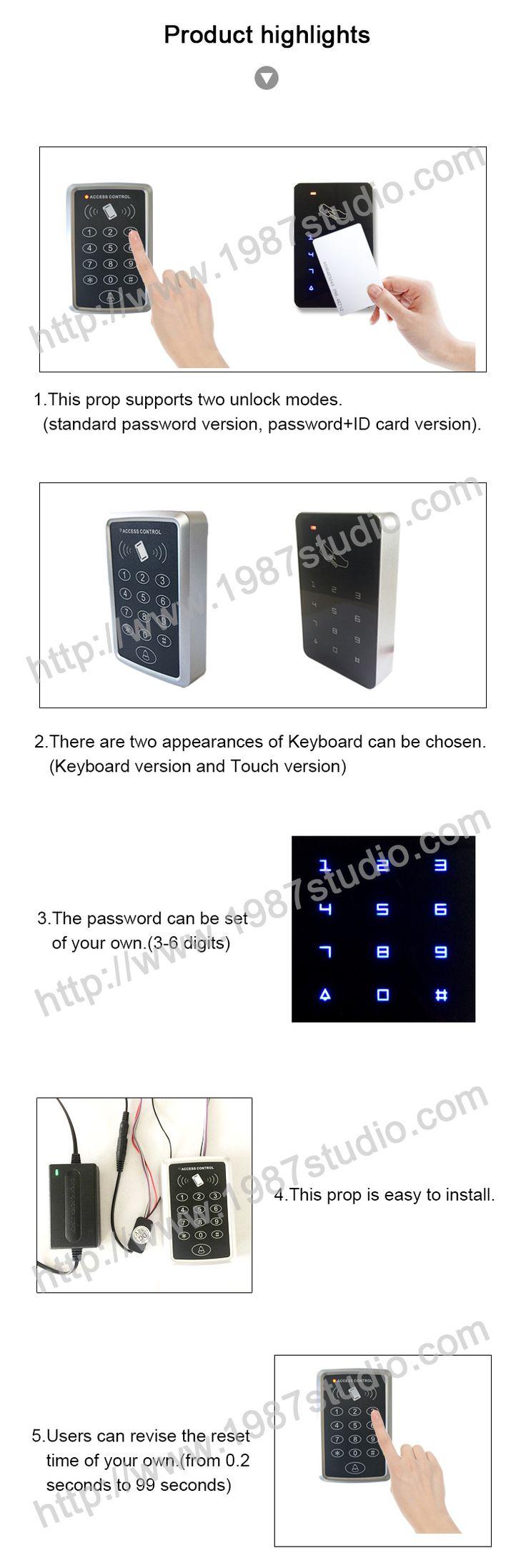 Cipher keyboard escape room prop escape room escape