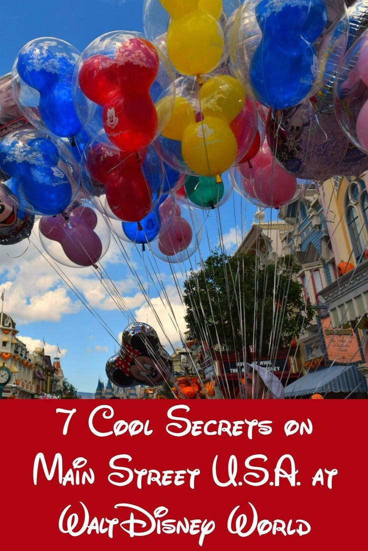"""That old adage """"it's all in the details"""" was never truer than at Walt Disney World & Main Street U.S.A. is no exception. Here's 7 secrets to make you think."""