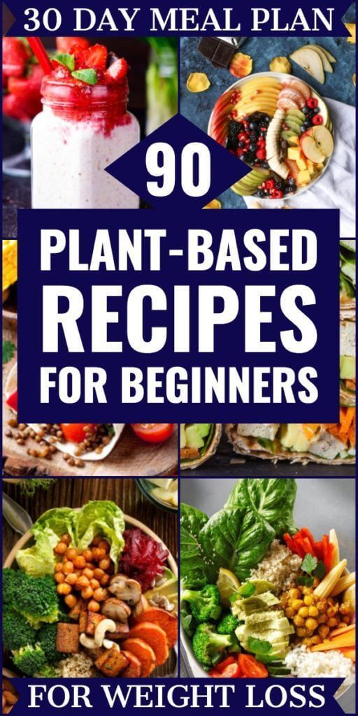 Plant Based Diet Meal Plan For Beginners: 21 Days of Whole Food Recipes To Help You Lose Weight