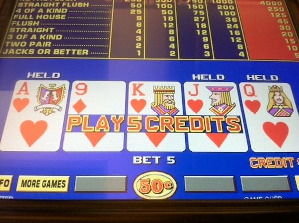 Club vegas casino video poker lumiere casino parking