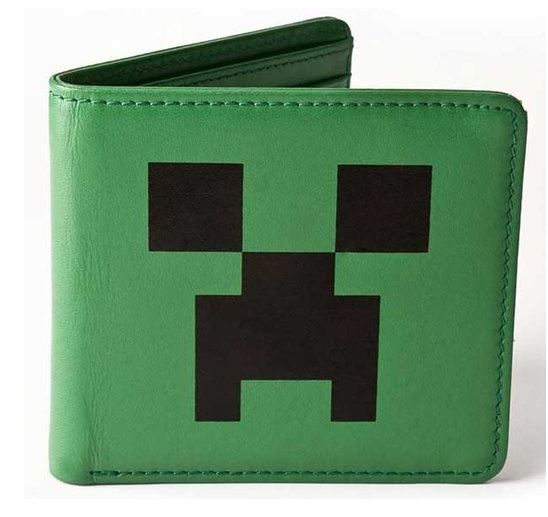 THE 'must-have' fun wallet for any teen into the classic, blockbusting computer game, Minecraft. #Wallet #Teens Wallet