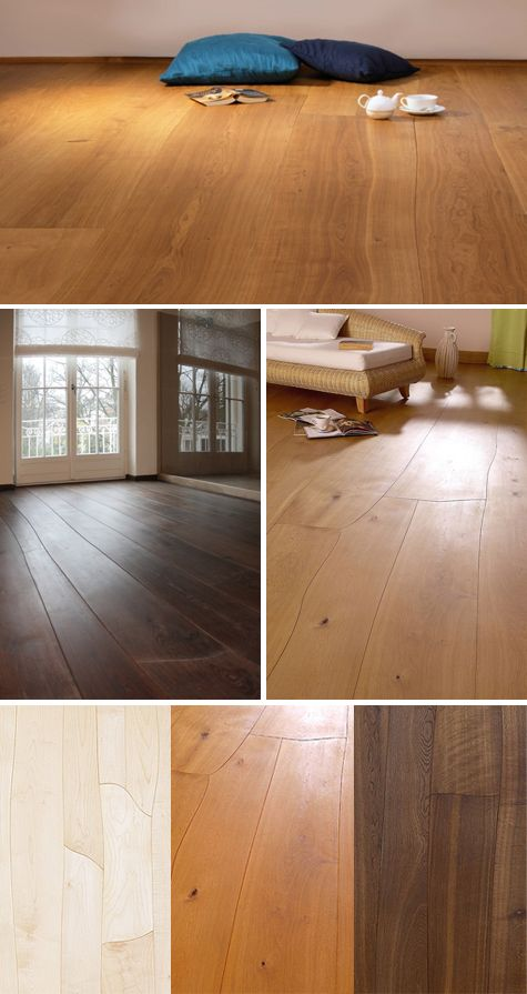 Waldilla curved wood floors - ik weet het nog niet goed