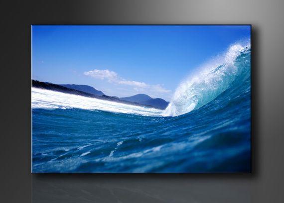 Cuadro agua ola gigante 120cm x 80cm, Arte, Dibujo, Arte, Ilustración, Arte, Pintura, Arte, Fotografía, Hogar, Decoración, Hogar, Cuadros