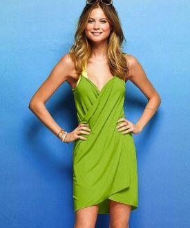 Vestido / Pareo de playa - Verde Antes: 25,00 €16,50 €
