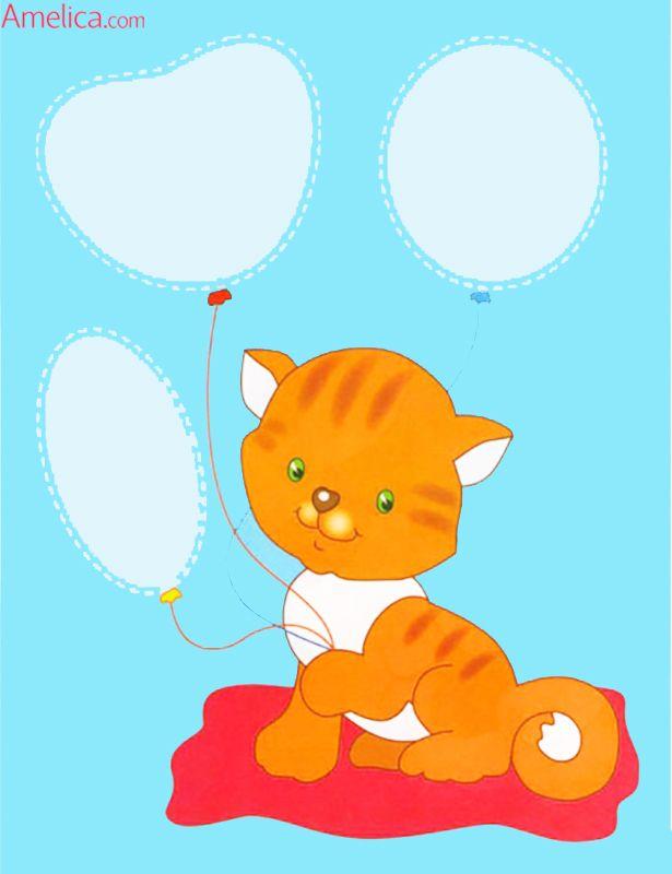 Аппликация для малышей 2-3 года, скачать и распечатать шаблоны аппликации из бумаги: мишка, кошка, собачка, лисичка