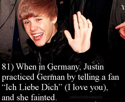 He is so sweet. He loves his belibers so much.