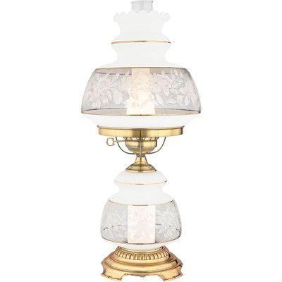 "Quoizel Satin Lace 24"" Table Lamp"