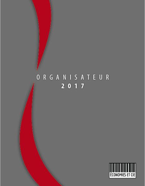 Agenda imprimable ou imprimé Organisateur 2017 www.economiesetcie.com/boutique  #agenda #menu #budget