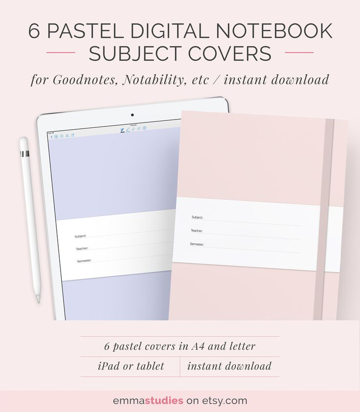 104 Best GoodNotes Templates Images On Pinterest