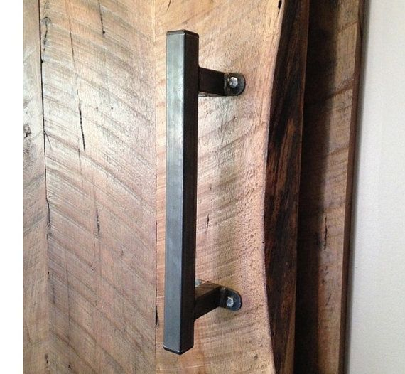 This Barn Door Handle Pull Is A Favorite Of Our Customers Looks Amazing Left Natural In Raw