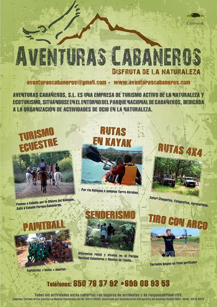 Algunas de las #actividades que puedes hacer en Cabañeros.