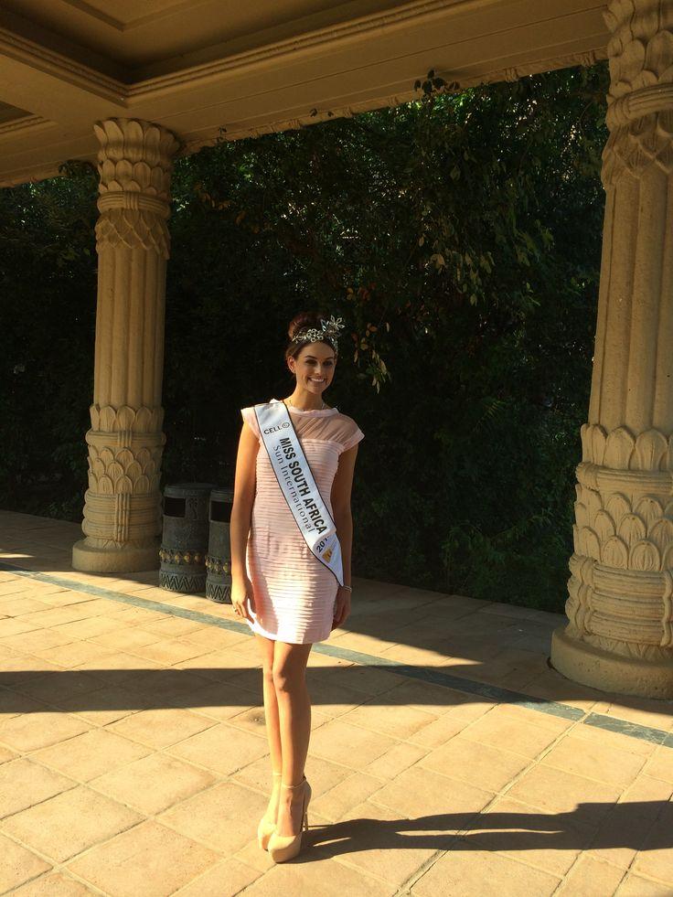 Miss SA 2014 Rolene Strauss at the Palace with Jack Friedman www.jackfriedman.co.za
