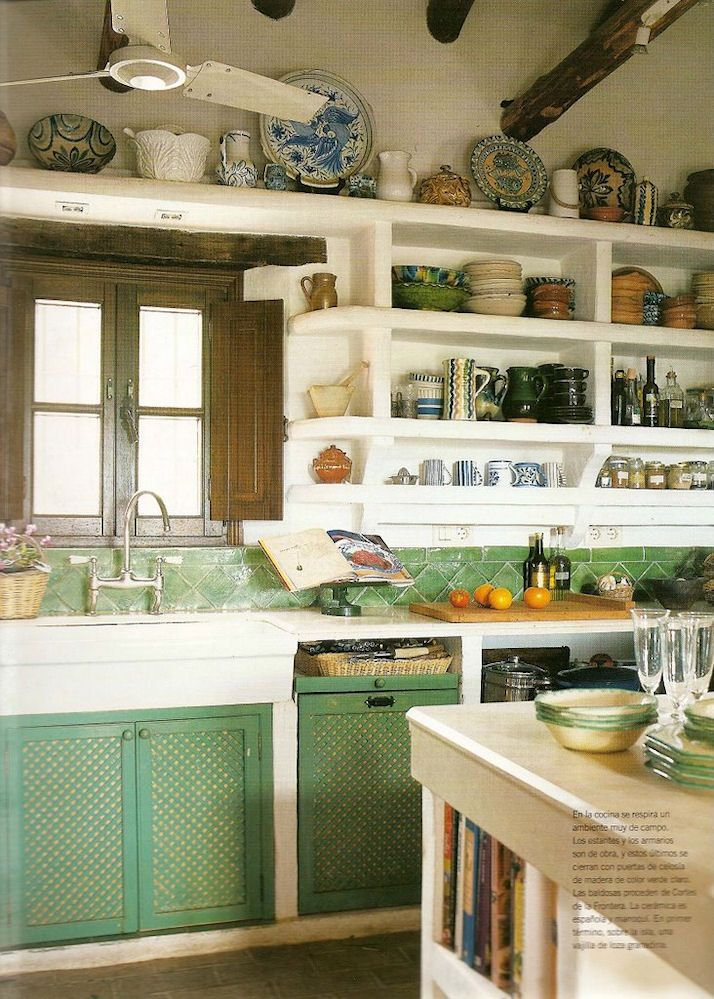 Mejores 88 im genes de casas campestres en pinterest for Greek kitchen designs