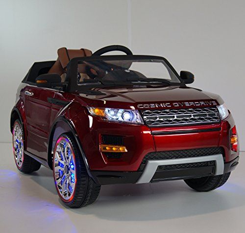 new 2015 range rover sx style 12v power wheels battery powered ride on toy leather