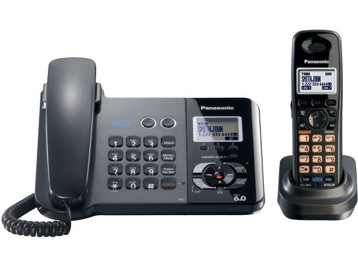 Panasonic Kx Tg9391t 220 Two Handset 220 240 Volts 50 60 Hz Cordless Phone Cordless Phone Cordless Telephone Phone