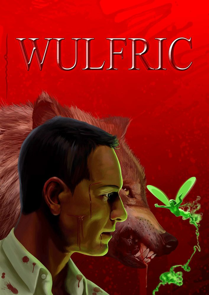 SOON  WULFRIC The Captives of Mephistopheles   This story has angels, demons, fairies, werewolves, Russian seamen, treasons, precious stones that are more than just jewels, a bleeding crucifix, at least one secret society, Lucifer, Mephistopheles, a marquis who went straight to Hell and became a naked demon and, of course, Wulfric, the Master who lives with a curse locked in his blood.  (if you want to see the fairy's wings move just follow the link ;) )