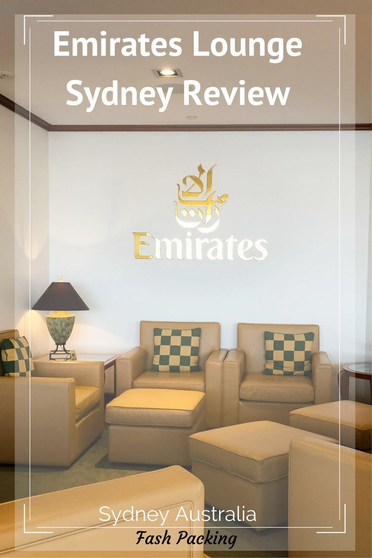 I travel alot and have been to a lot of airline lounges in my time. I had huge expectations of one of the world's premier airlines as a first time visitor to the Emirates Lounge Sydney International Airport. Did they deliver? I tell all on the blog ...