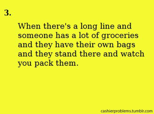Cashier Problems