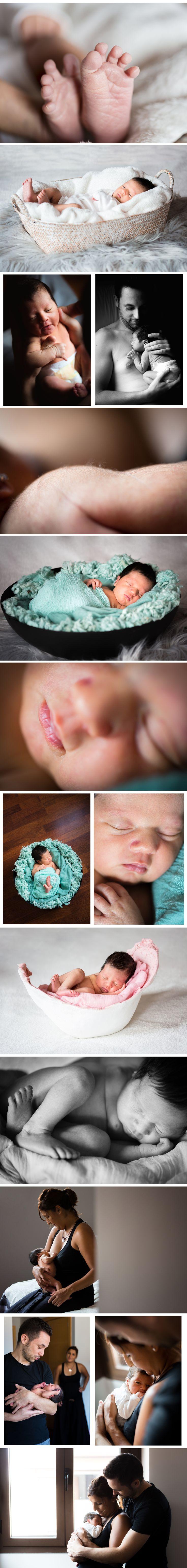 Reportaje recien nacido newborn fotografia