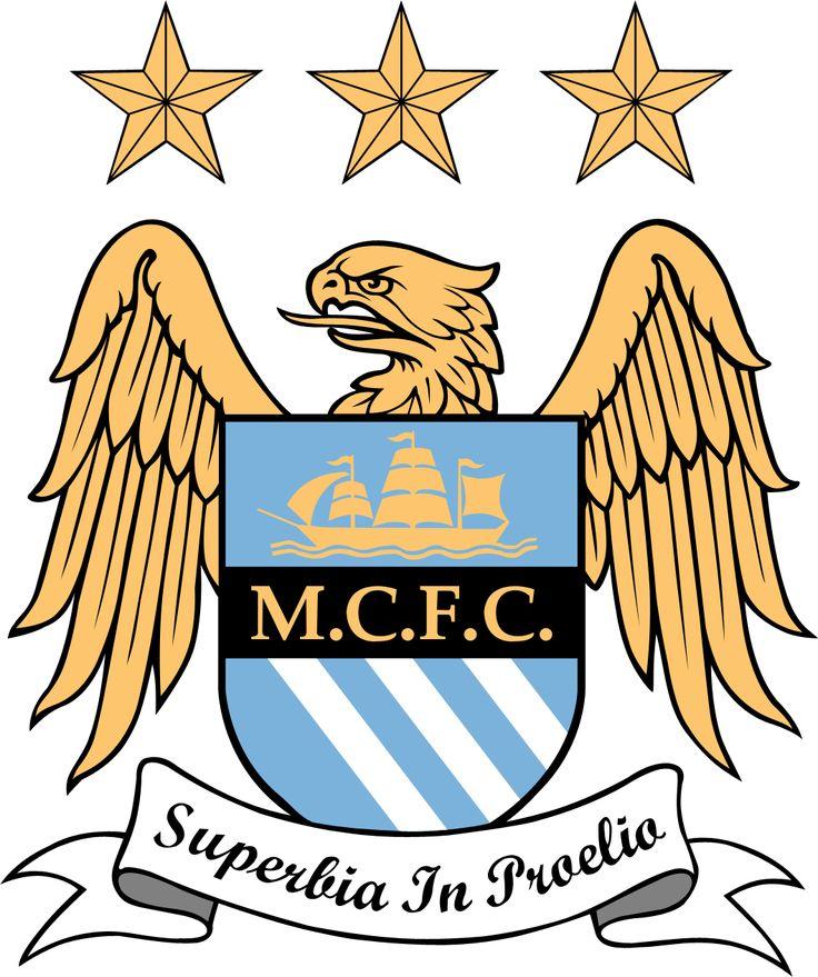Manchester City Football Club | Country: England, United Kingdom. País: Inglaterra, Reino Unido. | Founded/Fundado: 1880 | Badge/Escudo: 1997 - present.