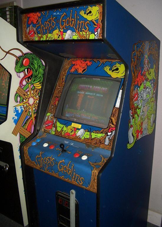 Ghosts'n'Goblins Arcade Game (1985) | Retrogaming ...