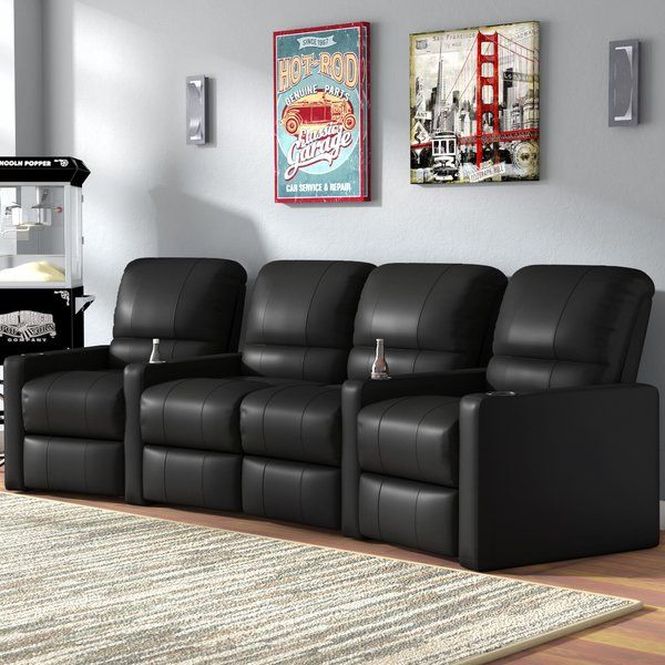 Center Home Theater Curved Row Seating