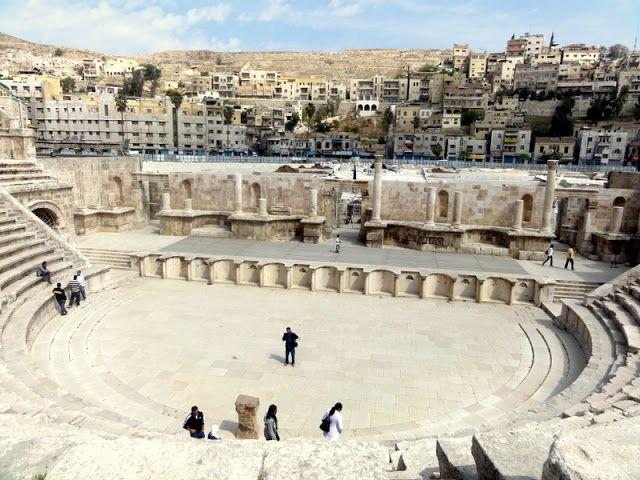 The ampitheater in Amman.