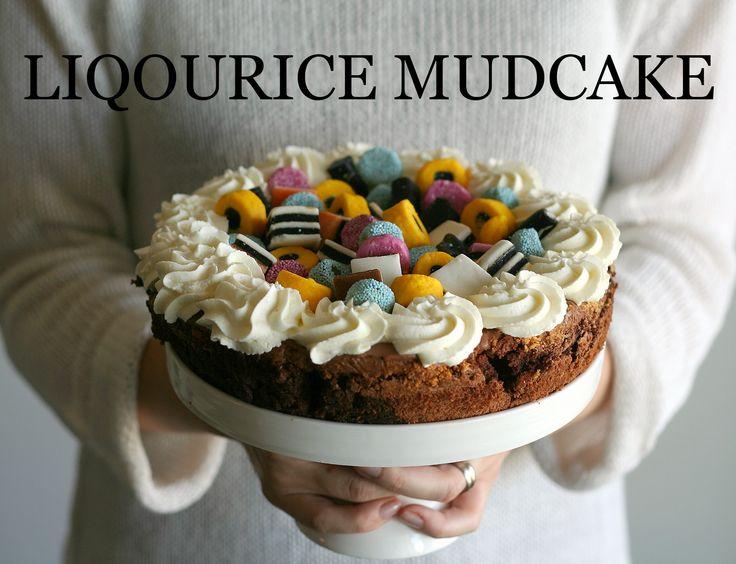 Mudcake with liqourice