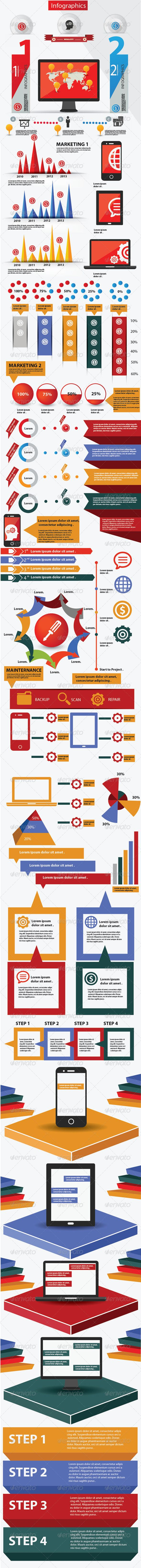 Infographics,Elements & Technology Graphics Design  #GraphicRiver         Infographics,Elements & Technology graphics design  	 File include :  	 2 Version :  	 1. Version One  	 2. Version Two  	 3 AI Files : for Illustrator cs5, Illustrator 8 and Illustrator 10  	 3 EPS Files : for Illustrator cs5, Illustrator 8 and Illustrator 10  	 - Font used is Myriad Pro  	      Created: 17October13 GraphicsFilesIncluded: VectorEPS #AIIllustrator ElementsIncluded: PieChart #LineChart #AreaChart…