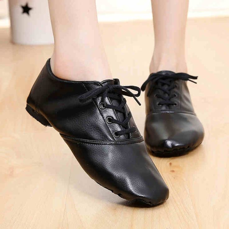 Woman's PU leather Jazz Dance Shoes Lace Up Boots for Adult Woman Practice Yoga Shoes Soft and Light Weight jazz boots 4016 #women, #men, #hats, #watches, #belts, #fashion, #style