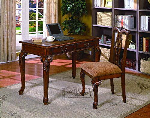 Transitional style 48 by 23 by 31-Inch high desk Easy assembly