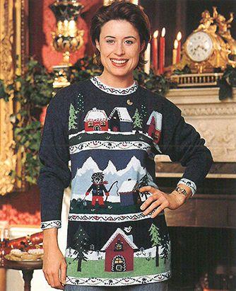 Tulchan Jumper - Christmas Jumper collection 1997