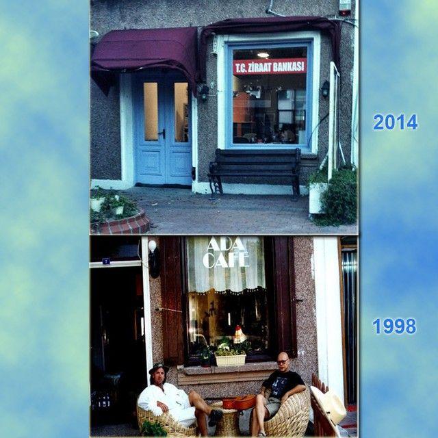 Nereden nereye...-1- #adacafe #bozcaada #adacafebozcaada #1998 #çarli #ziraatbankası #geçmişzamanolurki adacafebozcaada's photo on Instagram