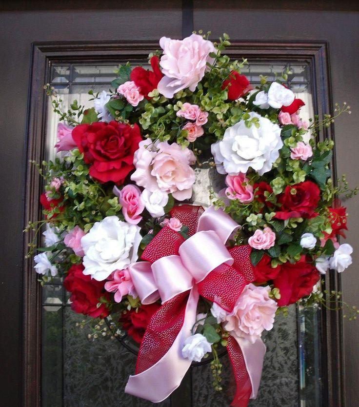 Valentine's Day Wreath | Valentines wreath