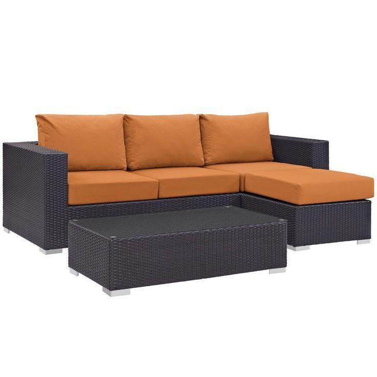 Die besten 25+ Outdoor sofa sets Ideen auf Pinterest Garten sofa - rattan gartenmobel ausverkauf