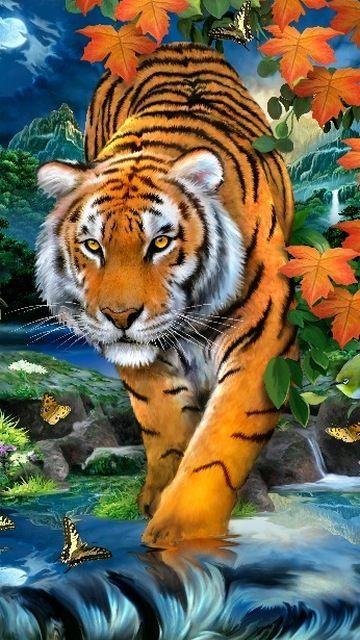 Tiger #Art #Tiger #AnimalArt