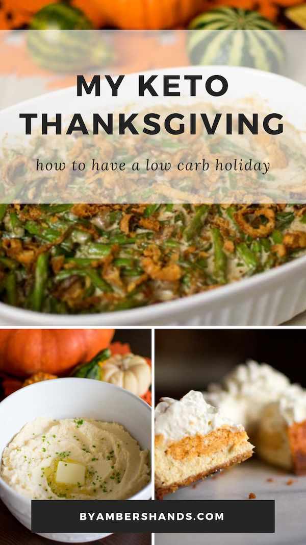 My Keto Thanksgiving-- How to Eat Low Carb During the Holidays