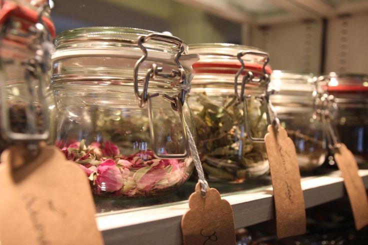 Loose leaf teas at Hattie's Baslow www.hattiesbaslow.co.uk
