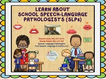 Hello! Today we are providing a document for teachers that was developed just for them! It contains information that would be helpful for them to know as they begin school and start a relationship with their school based speech-language pathologists (more informally called speech therapists.)We have provided handouts on common goal areas targeted in school based speech therapy services, have given reference to a great screening tool that could be printed out and used for identifying…