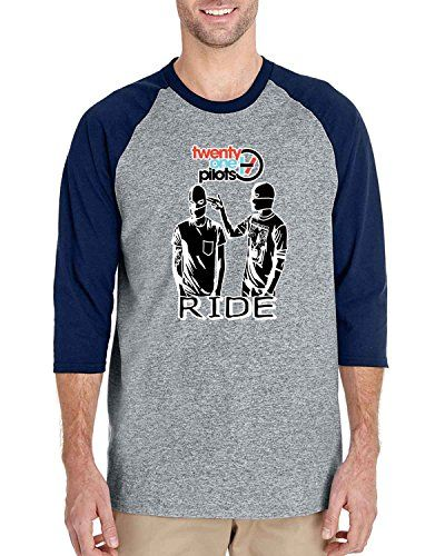 Twenty One Pilots Ride cover logo 3/4 Sleeve Baseball Tsh... https://www.amazon.com/dp/B01HREEGDS/ref=cm_sw_r_pi_dp_KpzJxbRZKGKD0