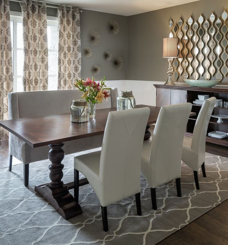 97 best Dining Room Inspiration images on Pinterest | Dining room ...