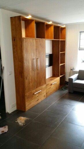 Dovetail closet